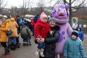 В детском парке «Сказка» сумчане и гости города отпраздновали Рождество Христово