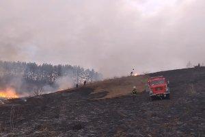 За сутки на Сумщине тушили сразу 6 масштабных возгораний сухой растительности