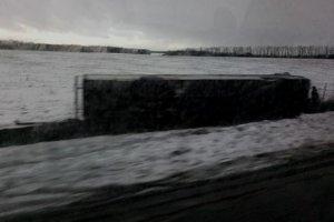 На трассе «Сумы-Харьков» перевернулся микроавтобус с пассажирами