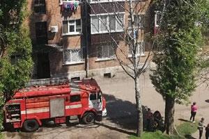 На Курском проспекте горело общежитие