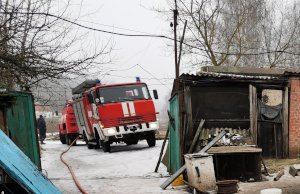 В Сумском районе из-за новогодней гирлянды вспыхнул пожар