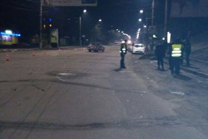 В городе Сумы на перекрестке сбили пешехода