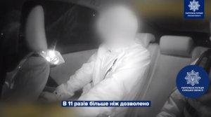 В Сумах пьяный водитель едва не наехал на пешеходов и хотел откупиться от полиции