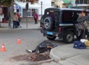 В Сумах прямо посреди улицы внезапно умер мужчина