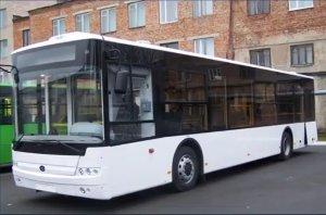 Большие автобусы приедут в Сумы в начале октября