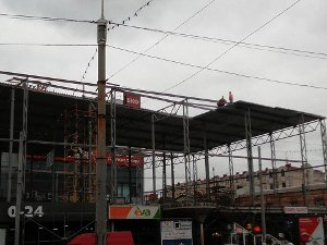 Госархстройинспекция требует остановить реконструкцию универмага в центре Сум
