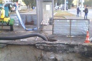 Коммунальная авария на рынке «СКД»: ремонт будет стоить более 13 млн грн