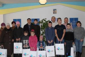 На Сумщине поздравили детей с особыми потребностями
