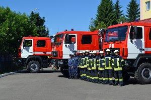 На Сумщине спасатели получили 4 новых современных спецавтомобиля