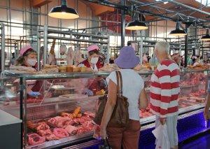 В Сумах на Центральном рынке заработал обновленный мясной отдел