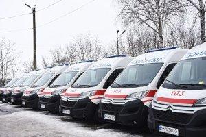 Сумская «скорая» получила новые авто за 47 млн грн