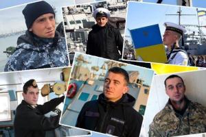 Пленным украинским морякам выделят по 100 тыс. гривен