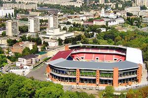 Наложен арест на нежилое помещение сумского стадиона «Юбилейный»