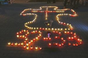 В городе Сумы почтили память жертв Голодомора