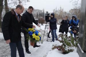 В Сумах почтили память ликвидаторов аварии на Чернобыльской АЭС