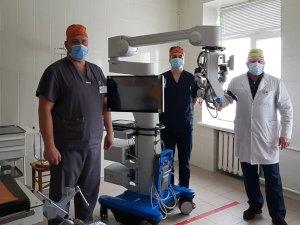 В Сумах в ЦГБ появилось новое нейрохирургическое оборудование
