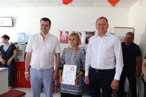 Во Всемирный день донора Александр Лысенко посетил Сумской областной центр службы крови