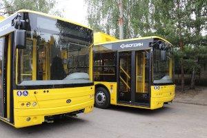 Часть коммунального транспорта уже вернулась на привычные маршруты после ремонта Харьковской