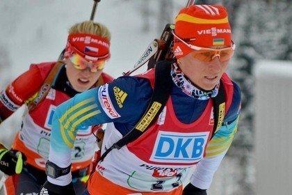 Биатлонистка с Сумщины Вита Семеренко стала 4-й в сегодняшнем спринте в Хохфильцене