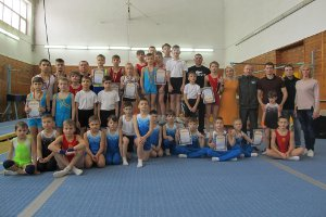 В Сумах прошло соревнование по спортивной гимнастике