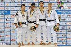 Сумские дзюдоисты завоевали медали на юниорском Кубке Европы