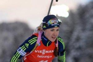 Юлия Джима взяла «бронзу» в гонке в Эстерсунде,  а Валя Семеренко стала четвертой