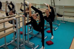 Юные гимнастки из Шостки достойно выступили в Киеве
