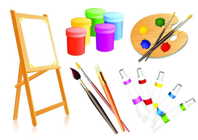 Предметы живопись рисунок и