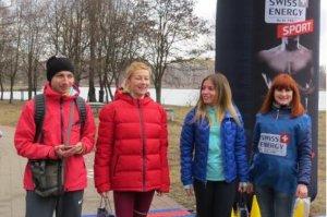 На озере Чеха прошел забег «Run,  Ladies run»