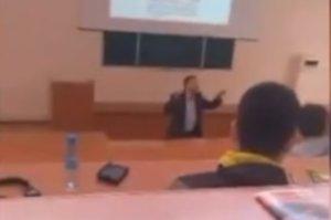 Преподаватель СумГУ устроил на лекции агитацию за одного из кандидатов в президенты