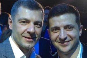Юрий Чмырь лично поздравил с победой Владимира Зеленского