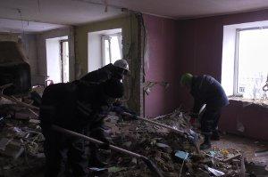 В Сумах полиция собирает данные о пострадавших от взрыва на Металлургов
