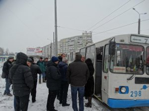 Троллейбусы по ул. Прокофьева все-таки поехали