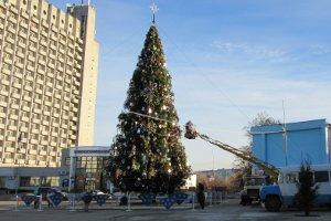 Сегодня состоится официальное открытие новогодней елки в Сумах