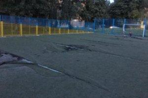 В Сумах планируют отремонтировать футбольную площадку школы № 27