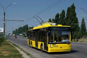 КП «Электроавтотранс» хочет купить 4 новых троллейбуса