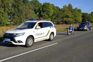 Шосткинский спортсмен преодолел 100 км на инвалидной коляске