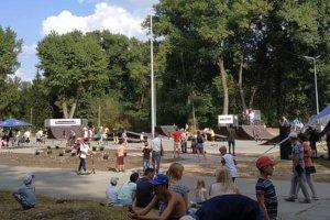 В Сумах прошло открытие скейт-парка