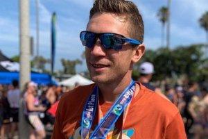 Тарас Шелестюк взял медаль в акватлоне