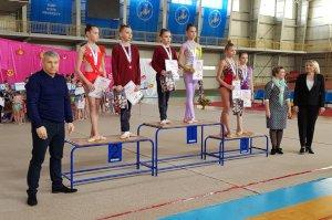В Сумах состоялось соревнование гимнастов