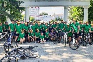 Велоквест в Сумах собрал более 60 участников