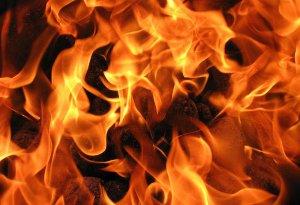 В Сумах на Олдыше тушили масштабный пожар