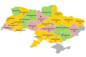 Сумская область поднялась в рейтинге по формированию объединенных территориальных общин