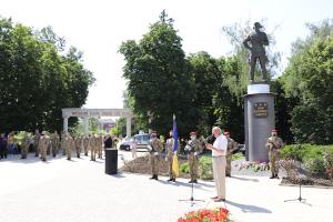 В Сумах отметили 100 лет со дня рождения Ивана Кожедуба